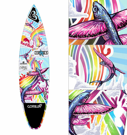 Sally's board design by Elise Martinson