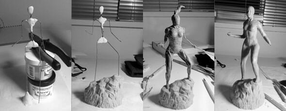 Two week Diablo III sculpture challenge