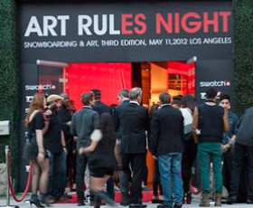 Swatch TTR Art Rules competition wrap-up