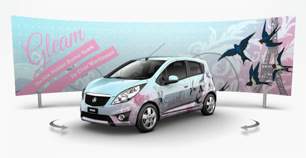 Holden barina spark entry gleam by elise martinson