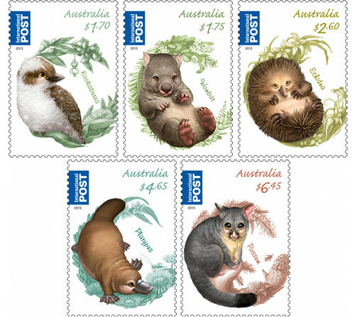 Bush_Babies_II_Stamps_by_Australia_post_Elise_Maritnson