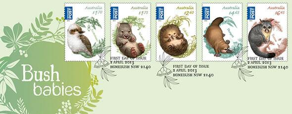 Australian Bush Babies II Stamps