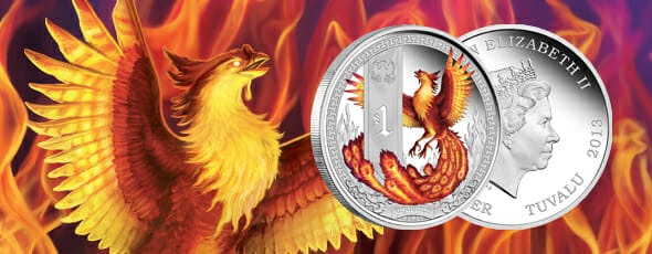 Mythical Creatures coin series: Phoenix released