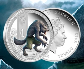 Mythical Creatures coin series: Werewolf released