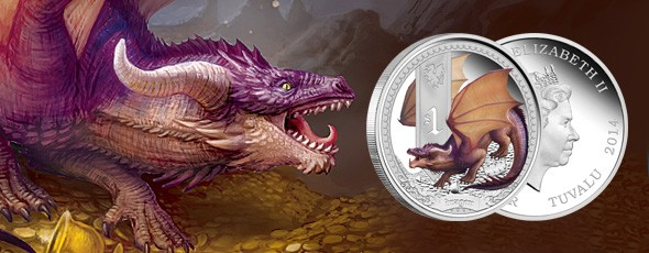 Mythical Creatures coin series: Dragon released