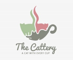 Cat Cafe logo