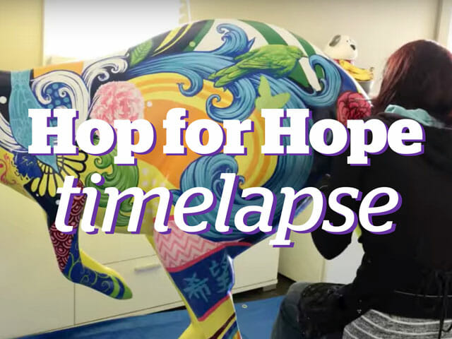 Hop for Hope time-lapse