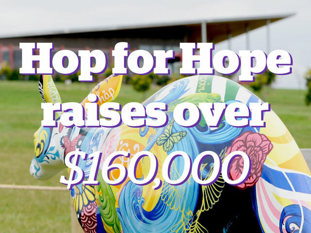 Hop for Hope raises over $160,000