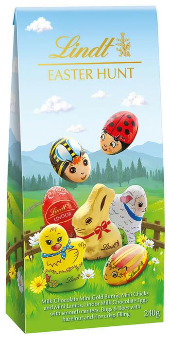 Lindt & Sprungli Assorted packaging illustrations Mock Up