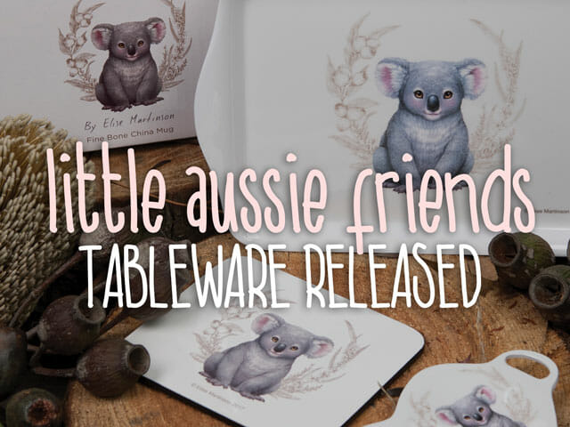 Little Aussie Friends tableware released
