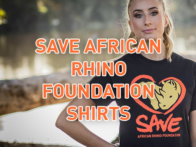 SAVE African Rhino Foundation Shirts