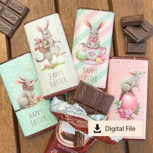 Easter bilby Aldi chocolate wraps